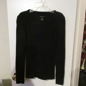 Calvin Klein jeans ribbed black sweater M 1343